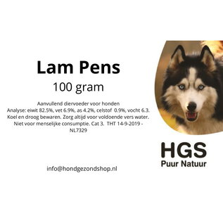 HGS Puur Natuur HGS Puur Natuur 100% Natuurlijke Lam Pens