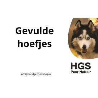 HGS Puur Natuur HGS Puur Natuur 100% Natuurlijke Gevulde Hoefjes Per Stuk