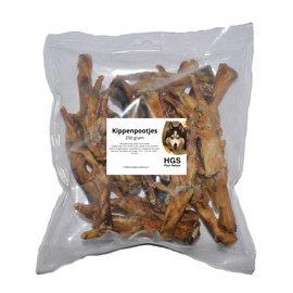HGS Puur Natuur Kippenpootjes - 250 gram