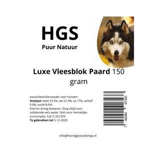 HGS Puur Natuur 100% Natuurlijk Luxe Paard Vleesblok