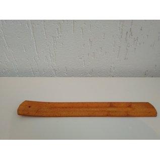 Handig wierook plankje voor wierook stokjes met hout