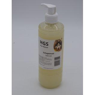 HGS Puur Natuur HGS Puur Natuur 100% Natuurlijk Schapenvet 500 ml