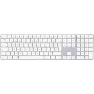 Apple Apple Magic Keyboard with Numeric Keypad - British English - Silver - (OEM)