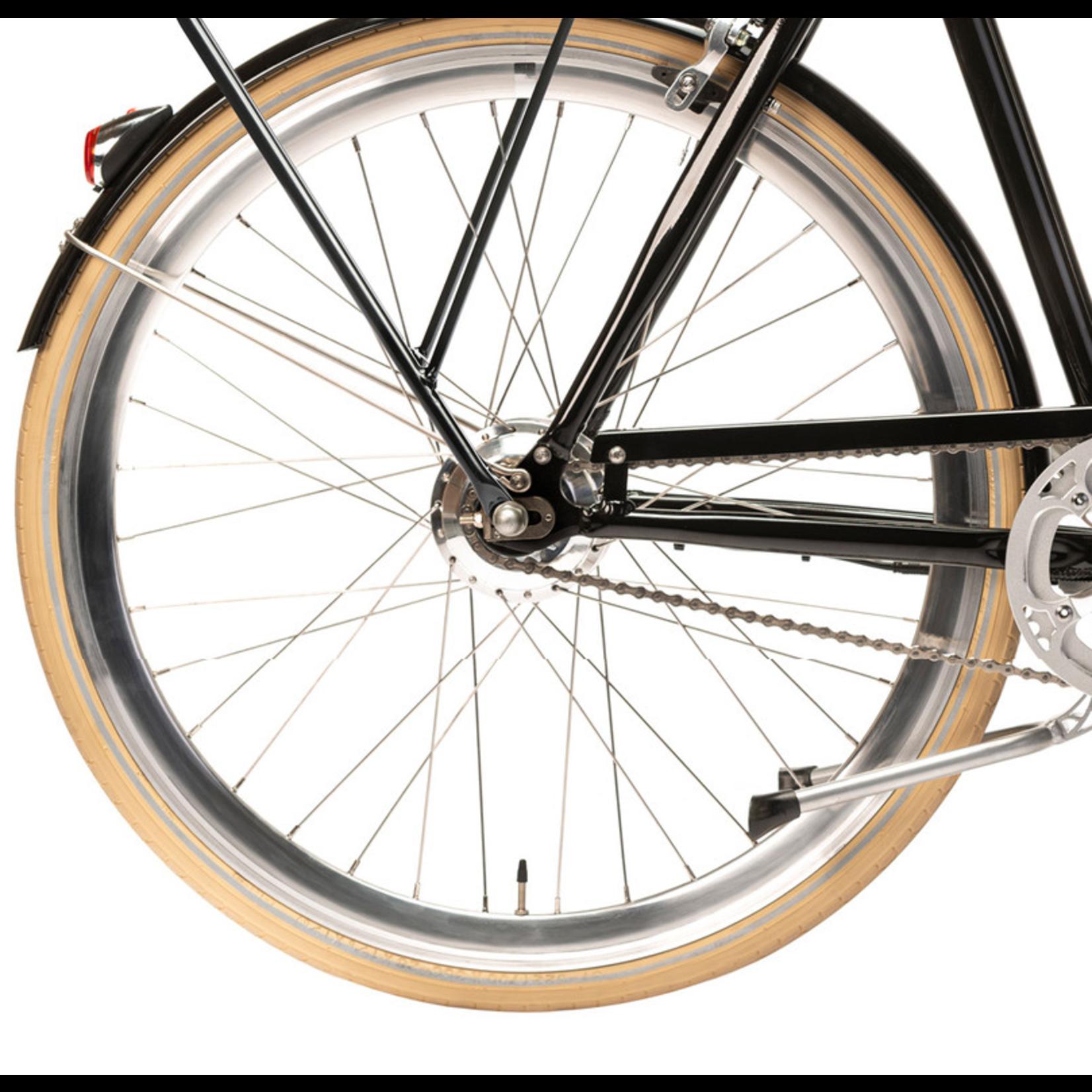 Achterwiel en onderdelen (zonder motor)