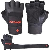 Pro fitnesshandschoenen met pols wrap