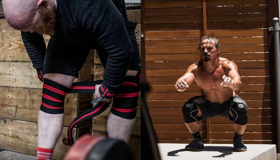 De voor- en nadelen van knee sleeves en knee wraps