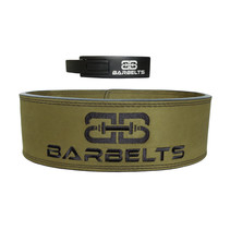 Lever belt groen - powerlift riem