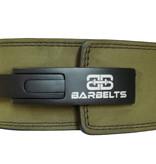 Barbelts Barbelts Lever belt groen - powerlift riem