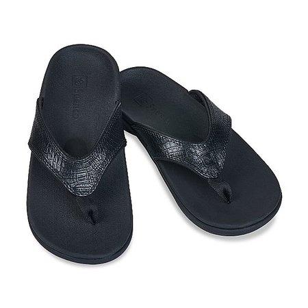 Spenco Spenco Yumi 2 Croco Slippers - dames