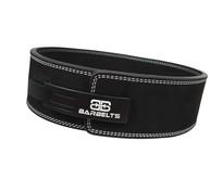 Barbelts Lever belt zwart 10mm - powerlift riem
