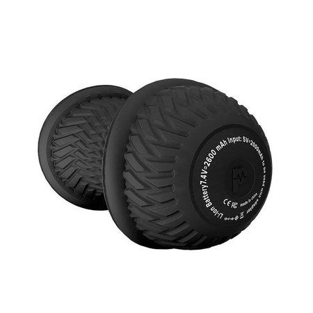 Pulseroll Pulseroll Vibrerende Peanut Massagebal - zwart