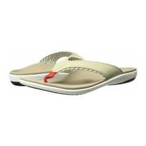 Yumi Candy Stripe Tan slippers - dames