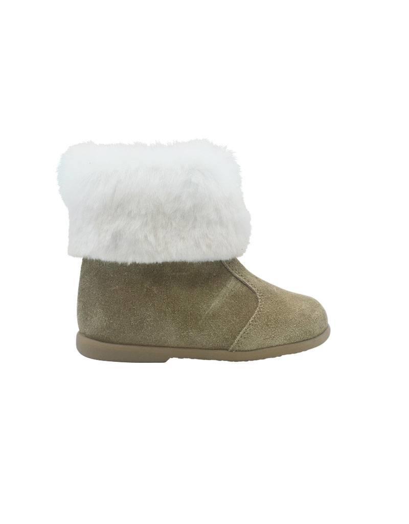 ELI boot camel schapenvacht outlet
