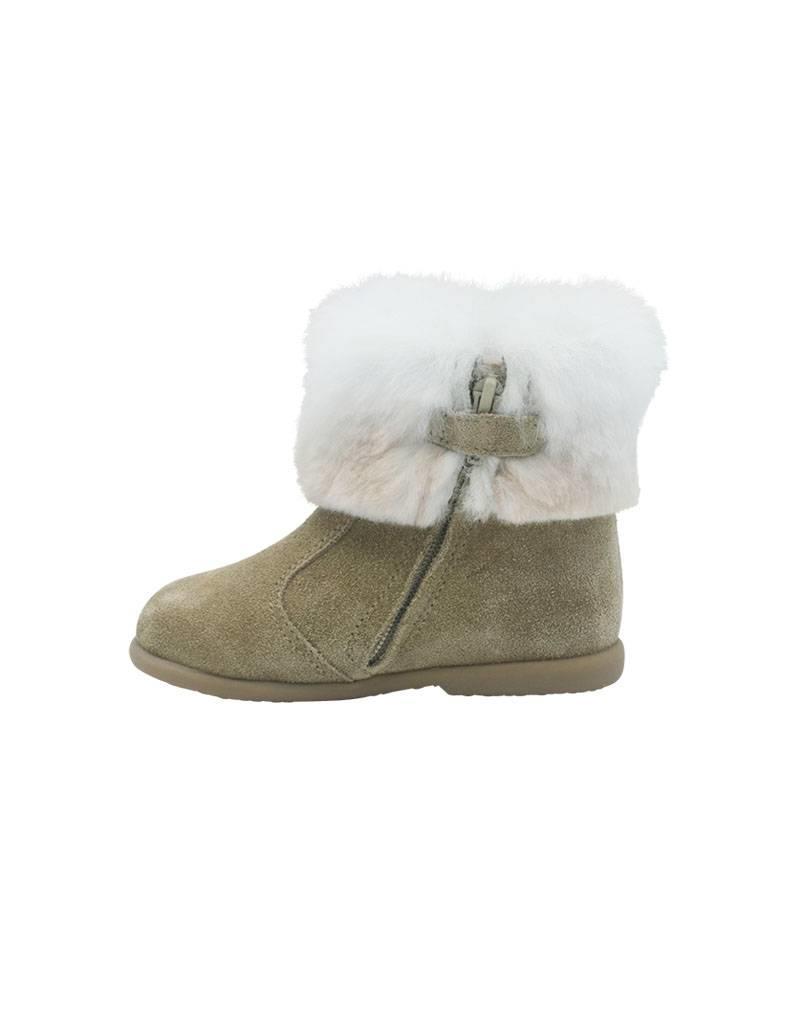 ELI boot camel fur
