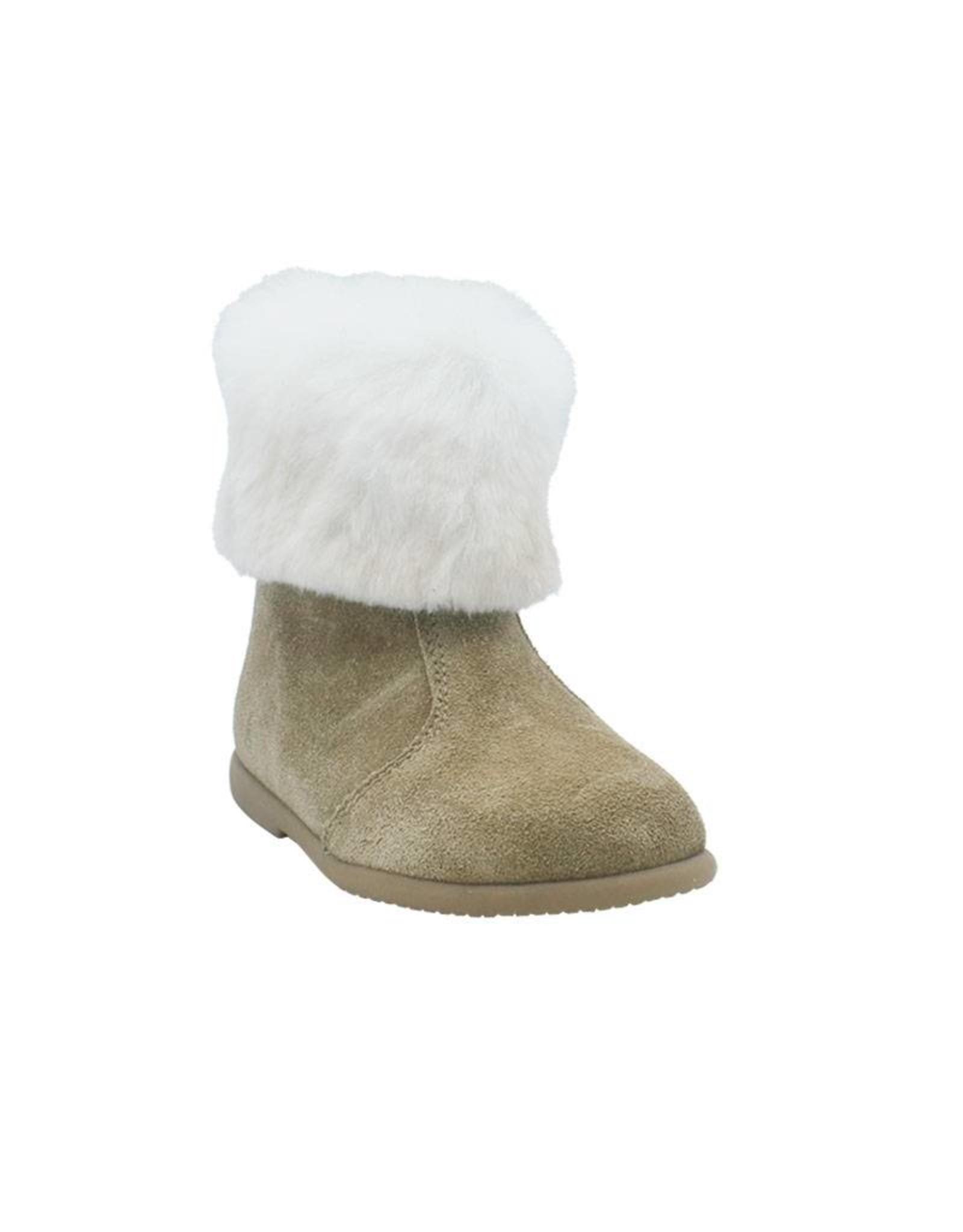 ELI ELI boot camel schapenvacht outlet