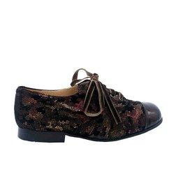 ELI ELI chaussure à lacets jungle bordeaux