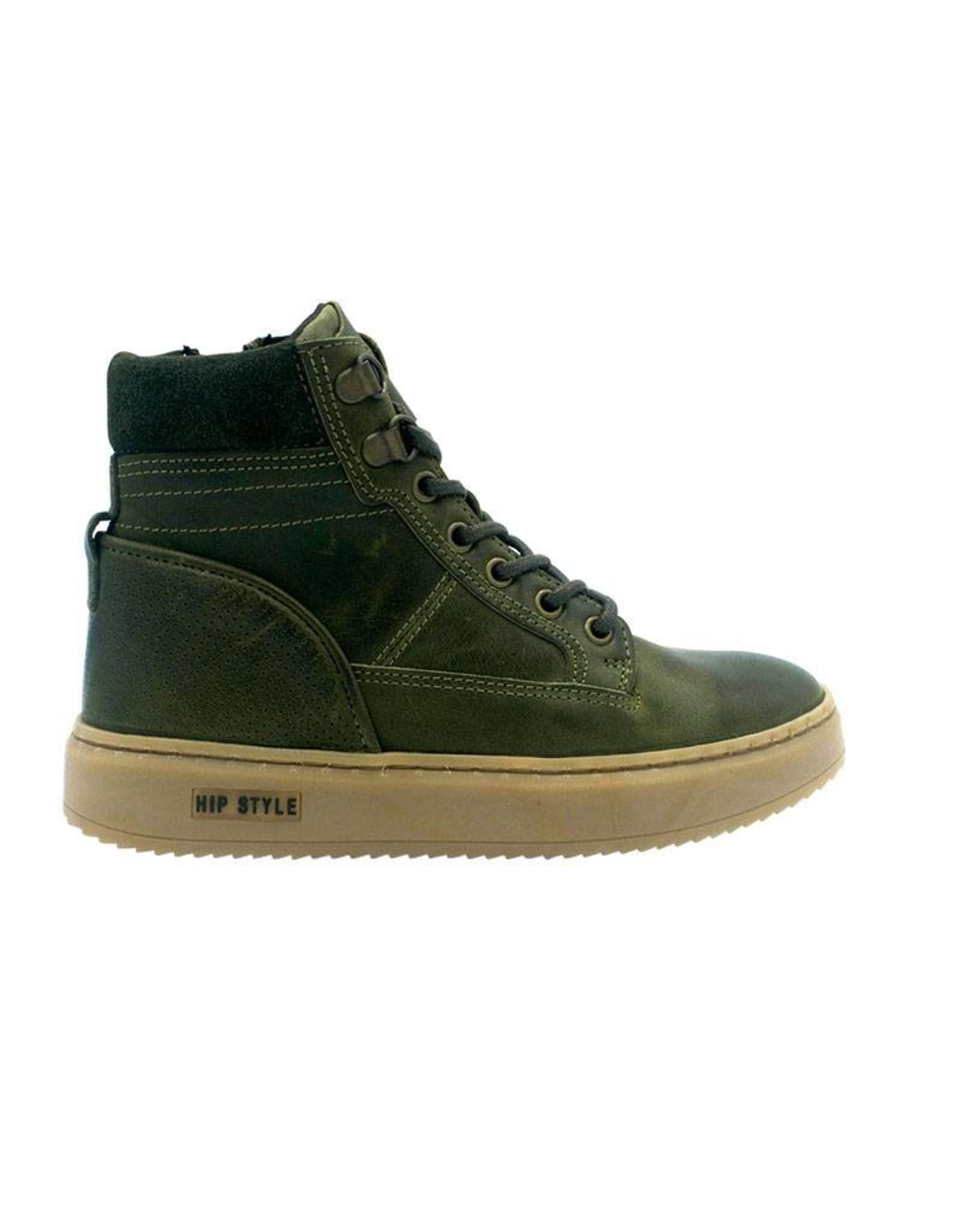 HIP HIP sneaker hoog groen