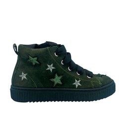 RONDINELLA sneaker green stars