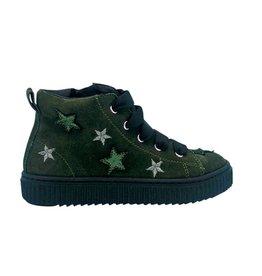 RONDINELLA sneaker groen sterren