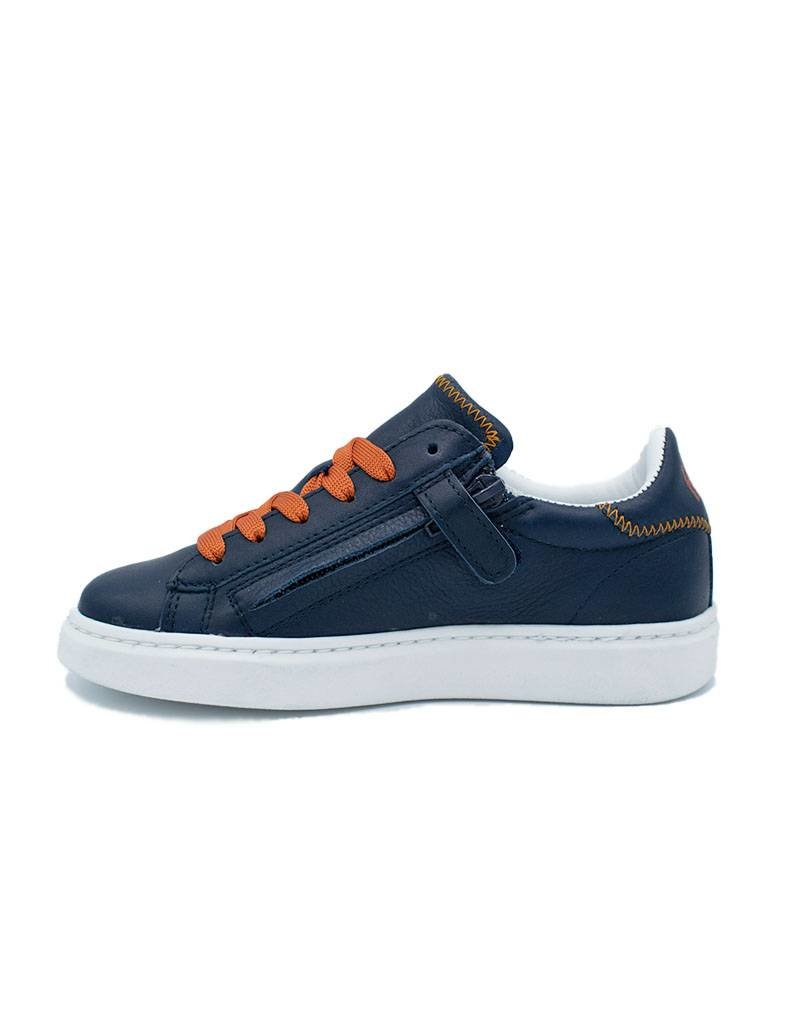 HIP sneaker blauw oranje