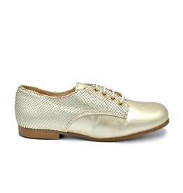 ELI ELI chaussure à lacets en or