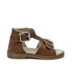 GALLUCCI brown sandaal