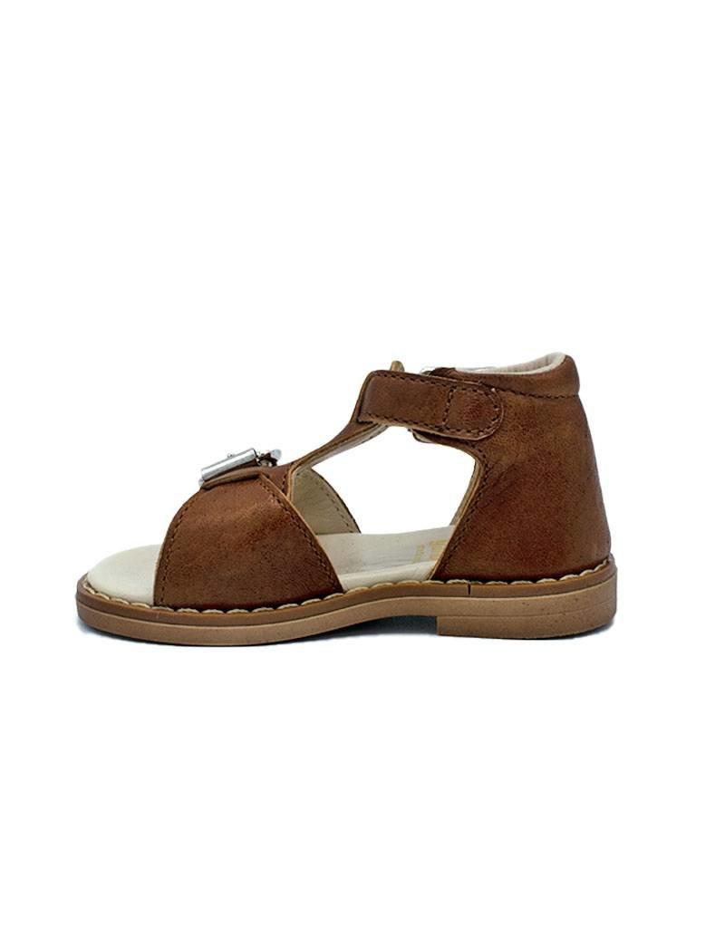 GALLUCCI GALLUCCI sandaal bruin