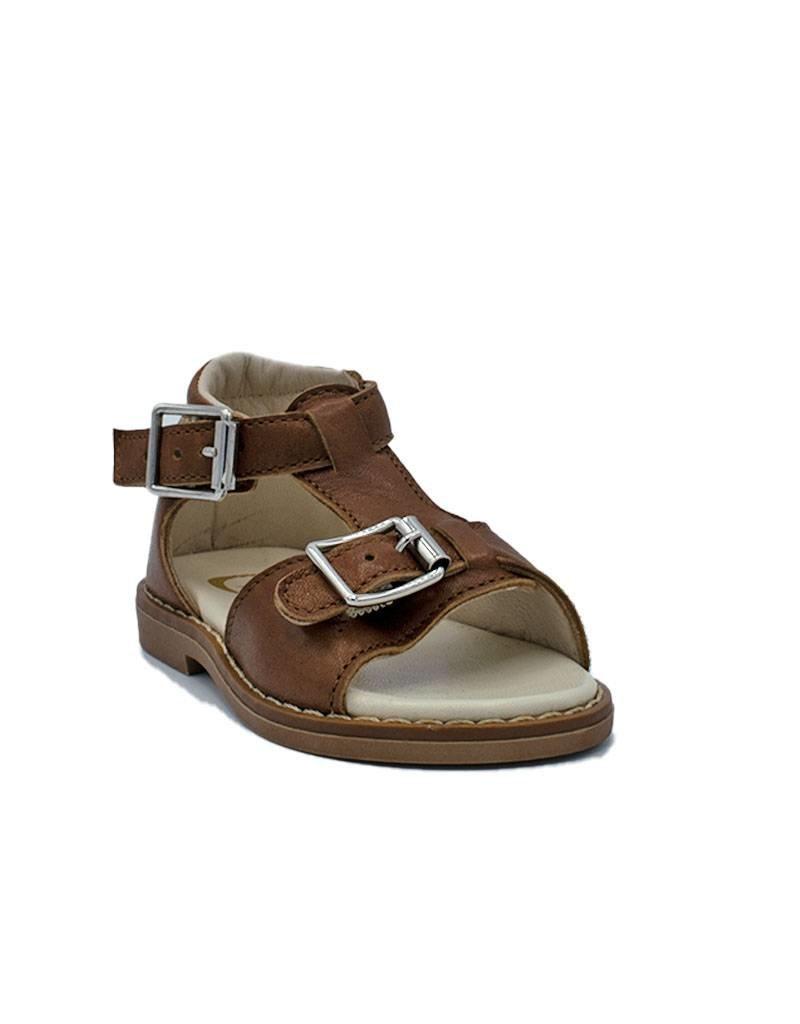 GALLUCCI sandaal bruin