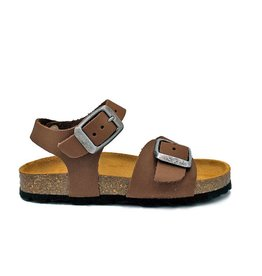 PLAKTON sandaal bruin