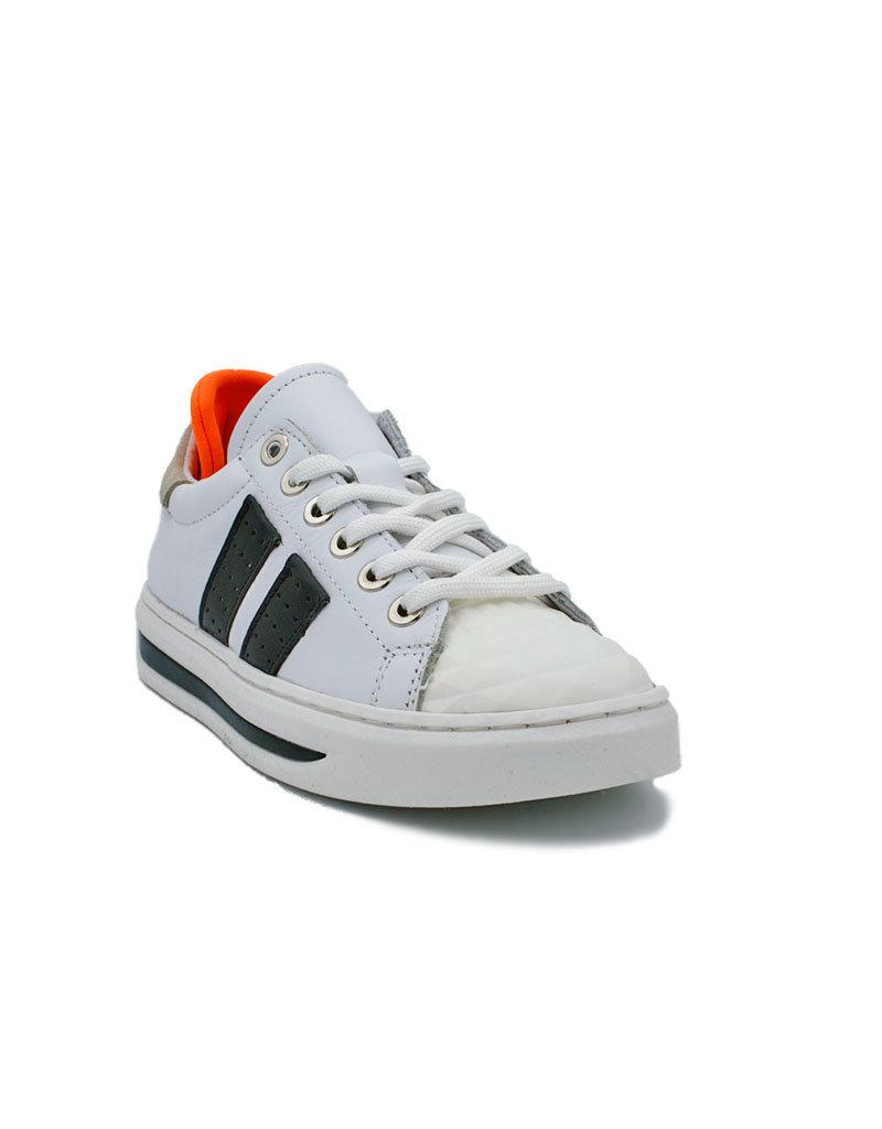 HIP HIP sneaker wit blauw oranje