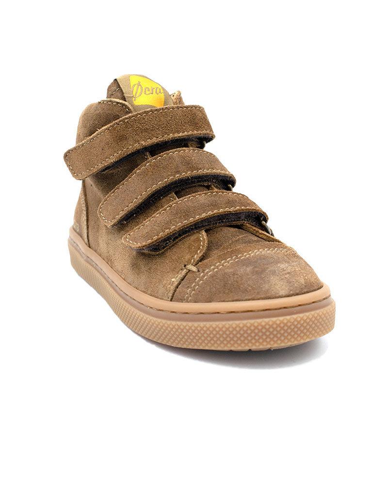 OCRA hoge bruine sneaker velcro