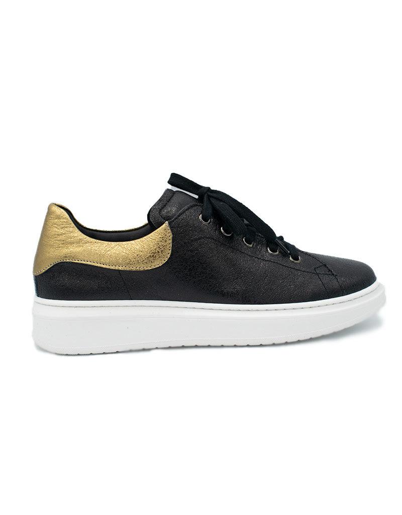 BIKEY sneaker zwart goud