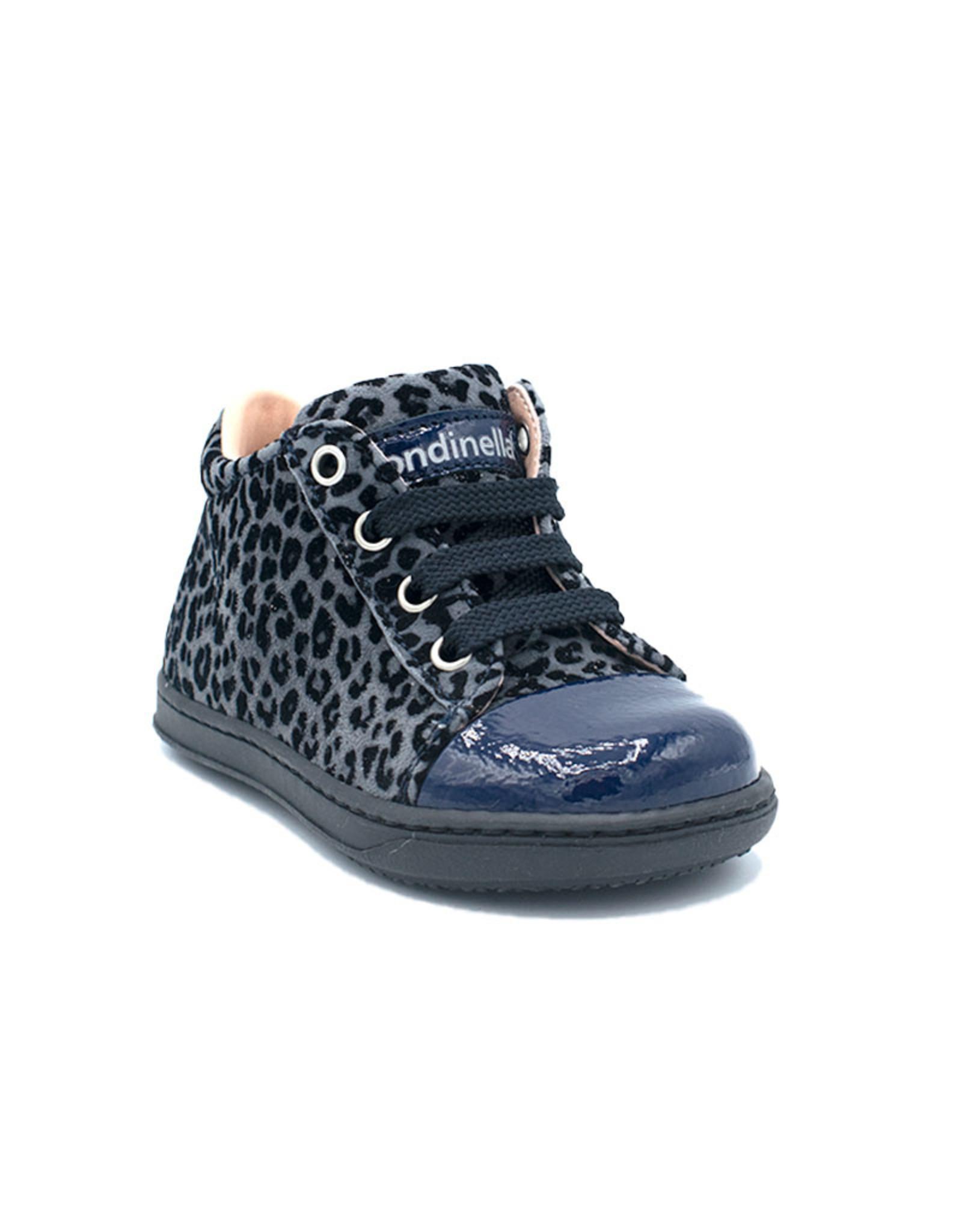 RONDINELLA RONDINELLA sneaker blauw luipaard