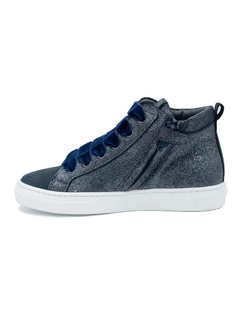 TRIBOO TRIBOO sneaker blauw glitter