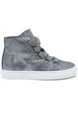 TRIBOO TRIBOO sneaker zilver glitter