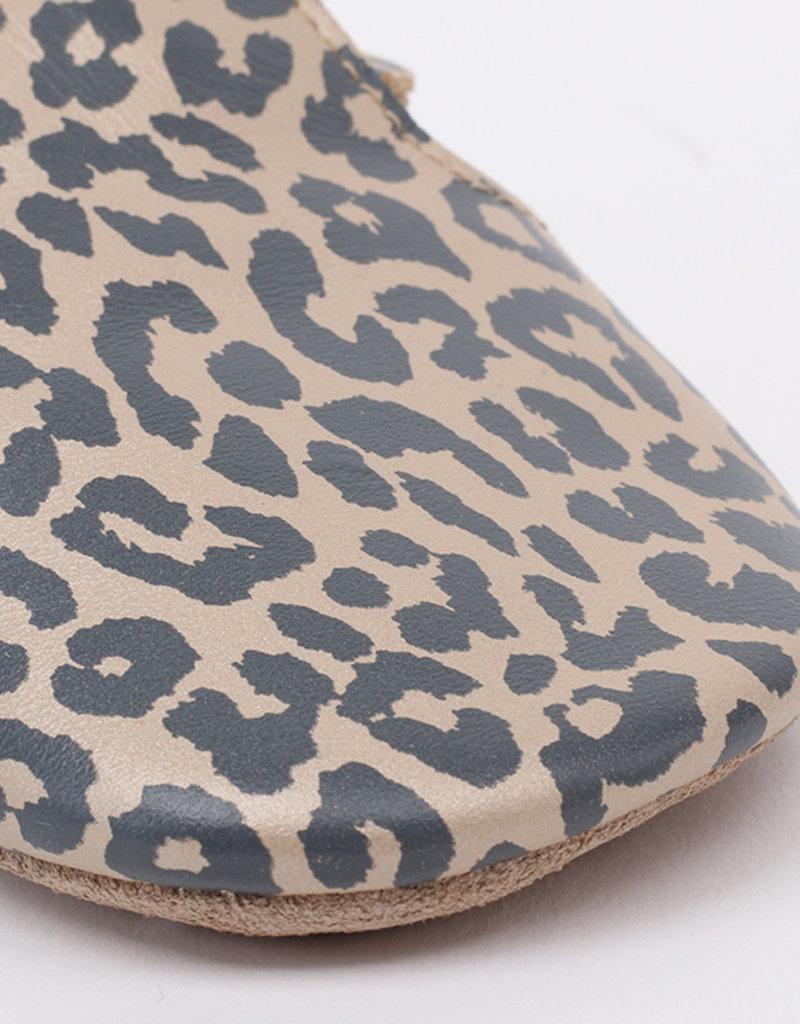 BOBUX Bobux slofje soft sole leopard