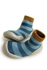 COLLEGIEN COLLEGIEN pantoffel blue stripes