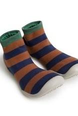 COLLEGIEN COLLEGIEN blauw bruin streep