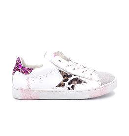 RONDINELLA RONDINELLA sneaker glitter leopard ster