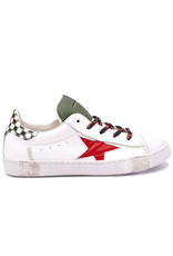 RONDINELLA RONDINELLA sneaker rode ster