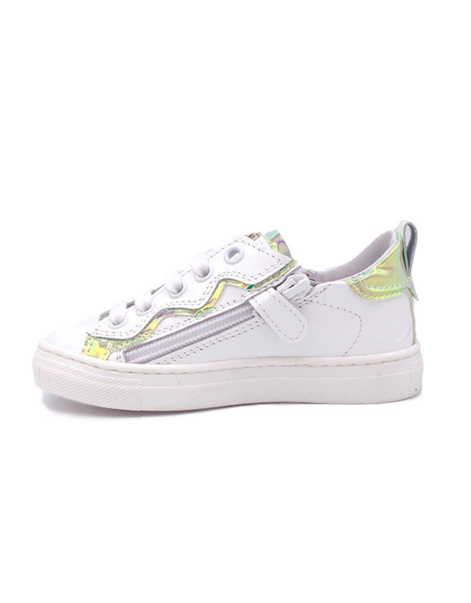 BANA LINE  BANALINE sneaker wit lak spiegel effect