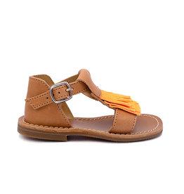 GALLUCCI GALLUCCI sandale fluo orange