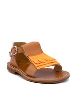 GALLUCCI GALLUCCI sandaal oranje fluo