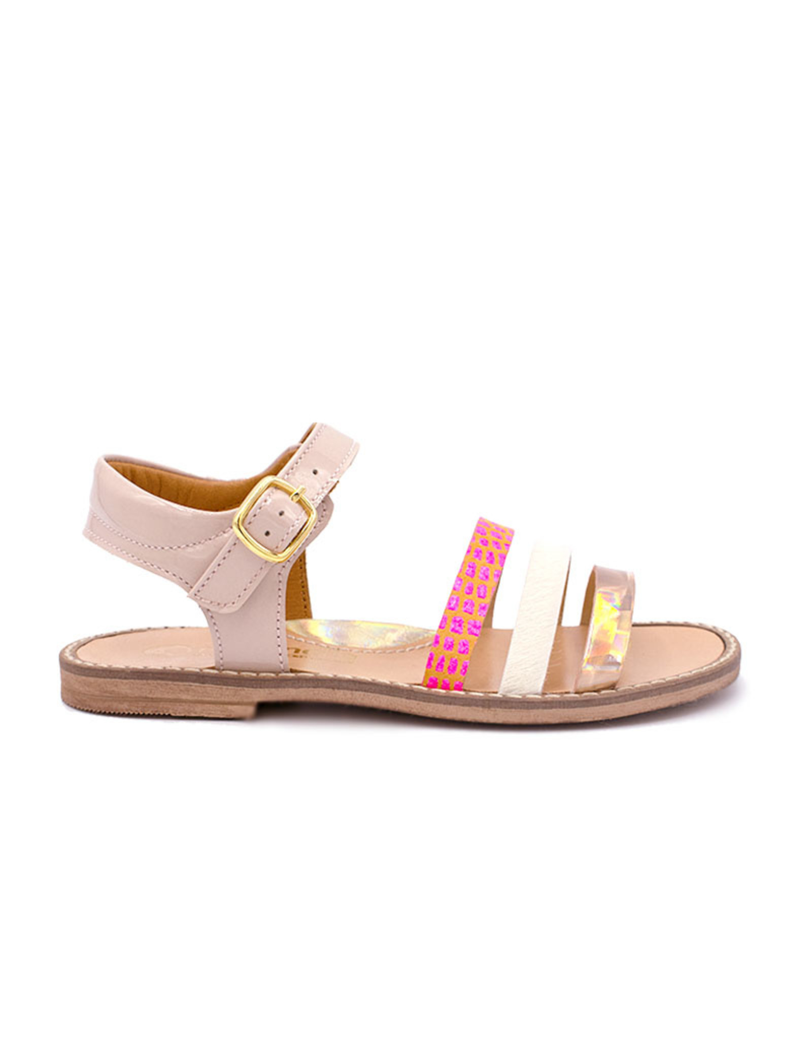 RONDINELLA RONDINELLA sandaal kleur bandjes