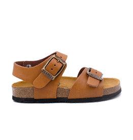PLAKTON sandaal camel