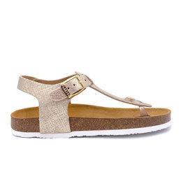 PLAKTON sandaal beige tong