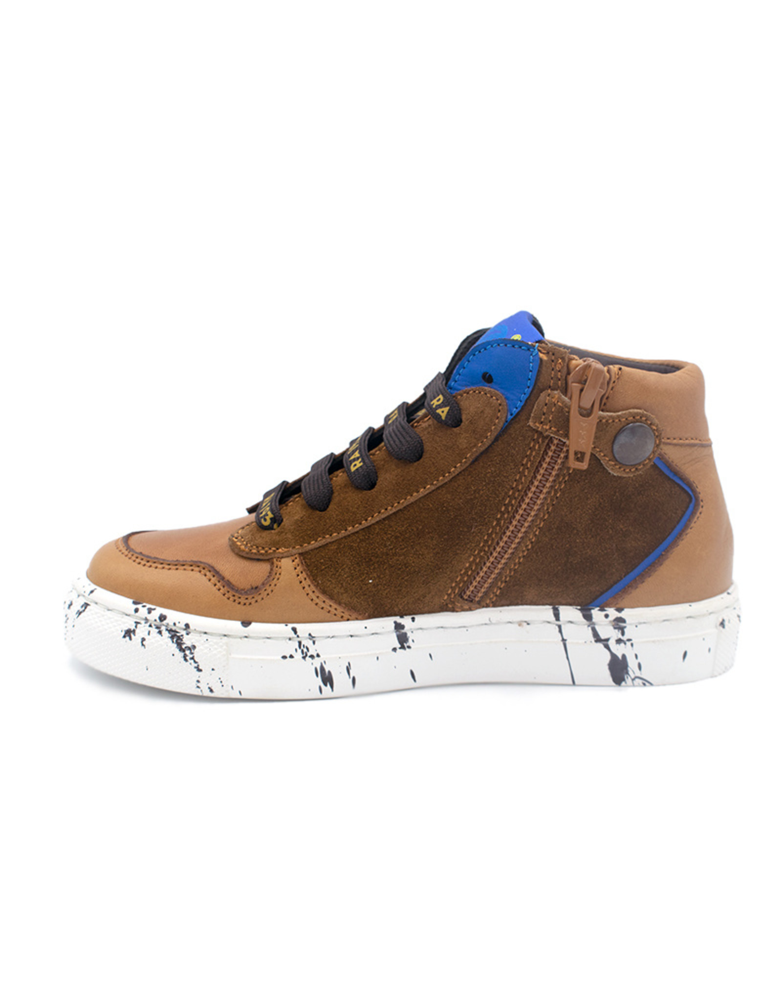 RONDINELLA RONDINELLA sneaker camel spikkelzool