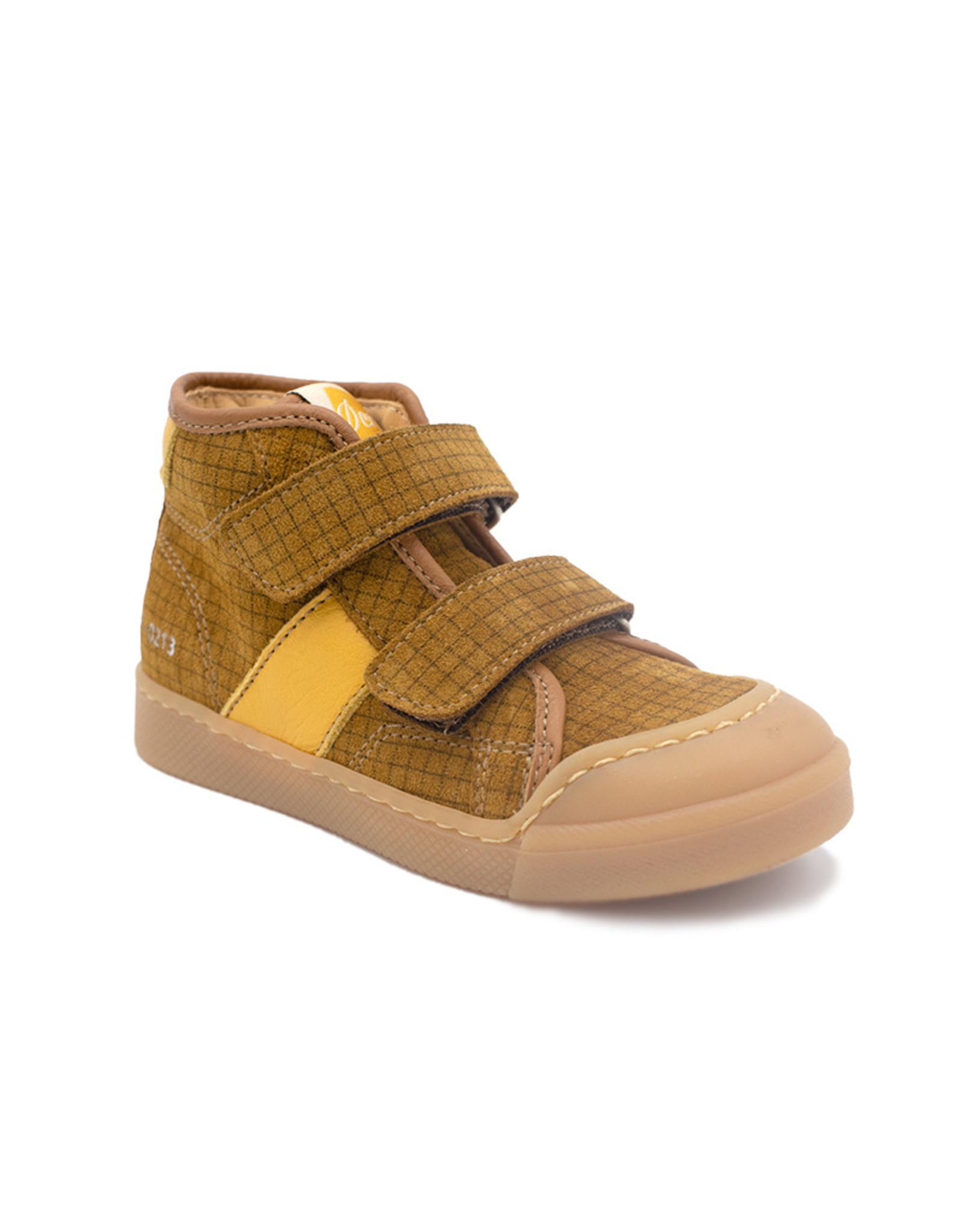OCRA OCRA sneaker bruin oker