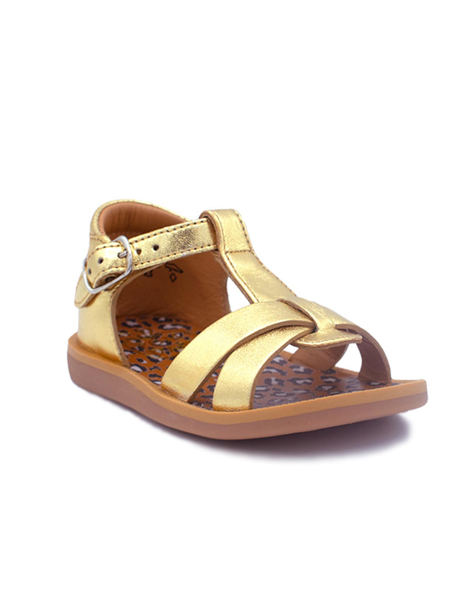 POM D'API POM D'API sandaal goud animals