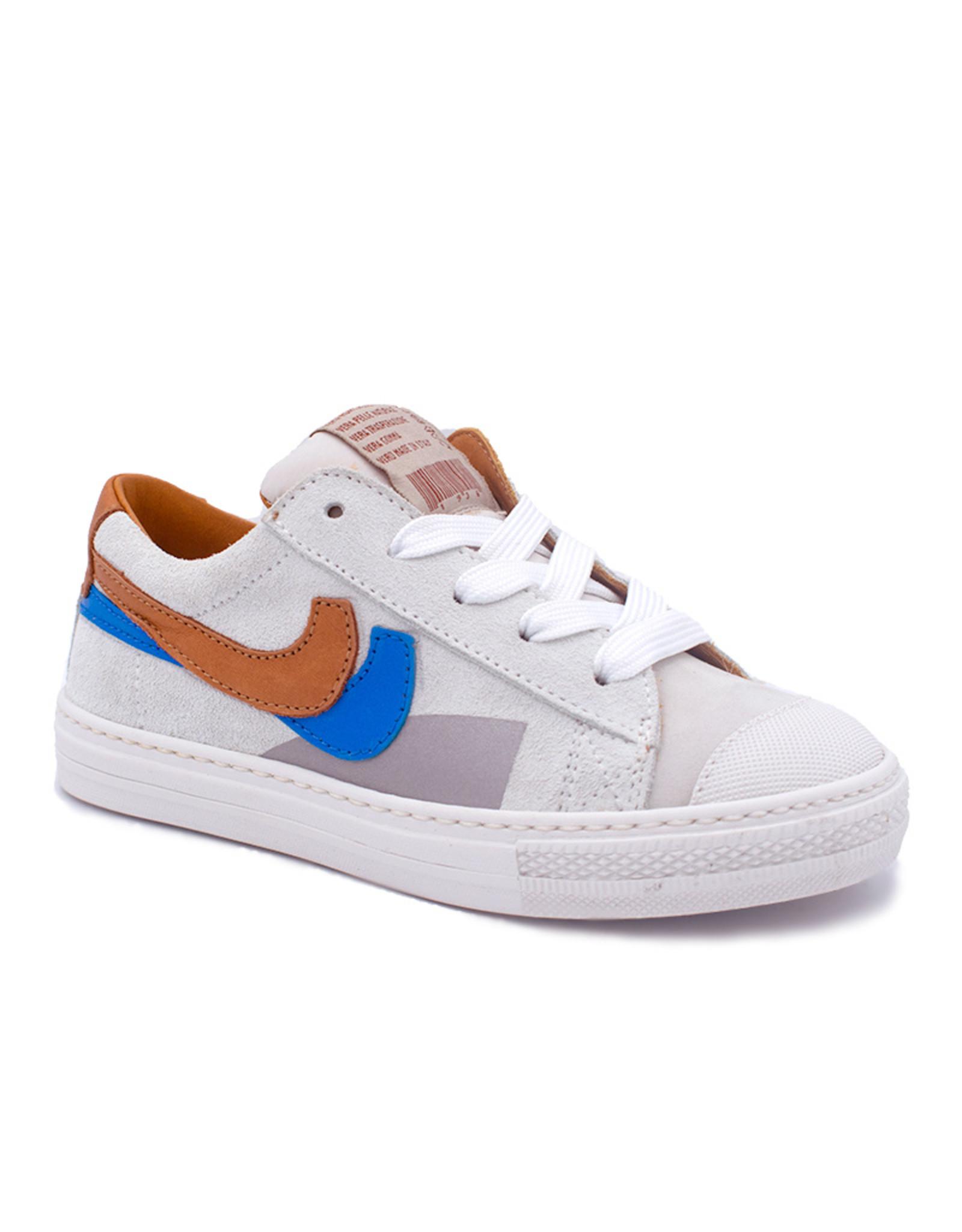 RONDINELLA RONDINELLA sneaker wit blauw bruin